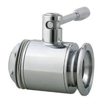 Ball valve / lever / drain / for gas