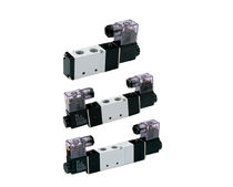 Internally-piloted solenoid valve / 5/2-way / pneumatic
