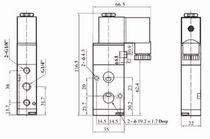 Pilot-operated solenoid valve / 5/2-way / air