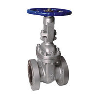 Gate valve / manual / shut-off / for chemicals