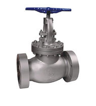 Globe valve / manual / regulating / for chemicals