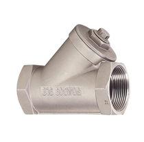 Spring check valve / Y
