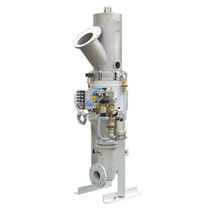 Positive-pressure pneumatic conveying system / continuous / bulk products