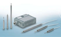 Linear displacement sensor / inductive / analog / high-speed