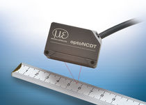 Linear displacement sensor / non-contact / laser / compact