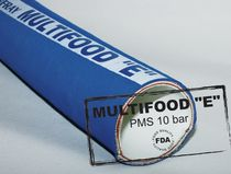 EPDM hose / for fluids / for the food industry