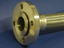 Stainless steel hose / for steam / for the chemical industry