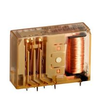 Electromechanical relay with guided contacts / bistable / power / for printed circuit boards