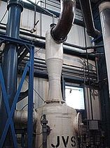 Venturi gas scrubber / wet type / jet / biological