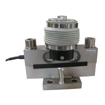 Double-ended shear beam load cell / beam type / OIML / steel