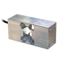 Single-point load cell / torsion / beam type / aluminum