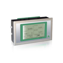 LCD display weight indicator / panel-mount / IP65 / for belt weighers