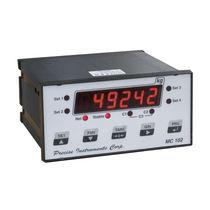 Digital weight indicator / DIN rail / IP54 / programmable