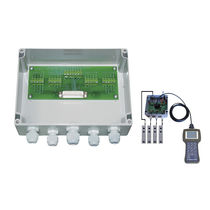 Surface mounted junction box / IP65 / stainless steel / with cable gland