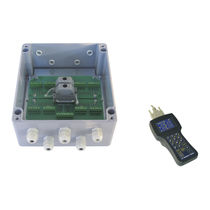 Surface mounted junction box / IP66 / stainless steel / with cable gland