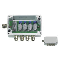 Surface mounted junction box / IP66 / aluminum / with cable gland