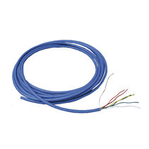 Optical data cable / insulated / multipair / flexible