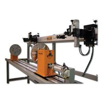 Automatic rotary welding system