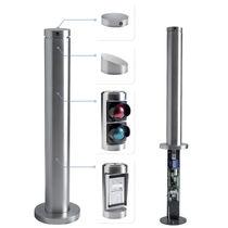 Keypad terminal / kiosk / access control / for retractable bollards