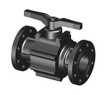 Ball valve / control / manual / 2-channel