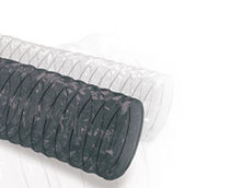 Flexible air duct / polyester / for ventilation