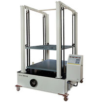 Compression testing machine / for cardboard boxes / laboratory / computer-controlled