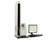 Tensile testing machine / for adhesive tape / high peel strength / 90-180°
