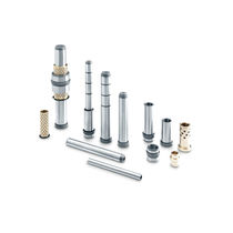 Ball guide bushing / smooth with ball cage / for molds and tools