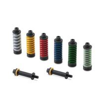 Compression spring / wire / tool / for molds