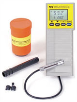 Concrete moisture meter / by resistivity measurement / mobile / with digital display