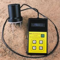 Grain moisture meter / microwave / mobile / with digital display