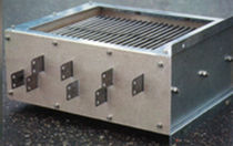 Resistor with housing / stainless steel-housed / high ohmic value / for railway applications