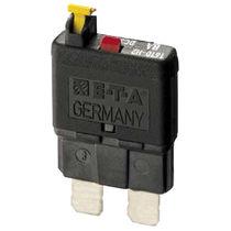 Thermal circuit breaker / single-pole / manual reset / miniature