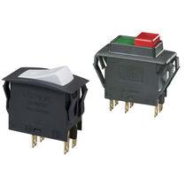 Thermal circuit breaker / single-pole / modular / rocker switch type