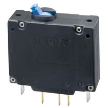 Hydraulic-magnetic circuit breaker / single-pole / modular