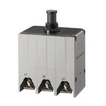 Thermal circuit breaker / multi-pole / manual reset