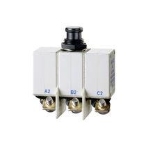 Thermal circuit breaker / tripolar / manual reset