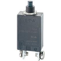 Thermal circuit breaker / single-pole / manual reset