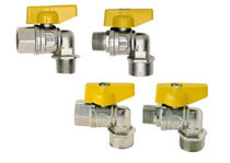 Ball valve / manual / control / for gas