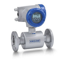 Ultrasonic flow meter / for liquids / for district heating networks