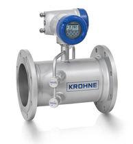 Ultrasonic flow meter / for gas / in-line