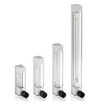 Variable-area flow meter / for liquids / glass tube / in metering tube
