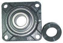 Flange bearing unit / ball bearing / steel