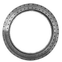 Internal-toothed slewing ring / ball / single-row