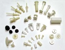 Flat-head screw / plastic / vibration-resistant