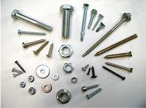 Countersunk head screw / self-tapping / metal