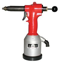 Pneumatic riveter / for threaded hexagonal inserts / floor-standing