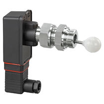 Float level switch / for liquids / stainless steel / side-mount