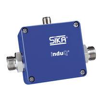 Conductive liquid flow meter / in-line