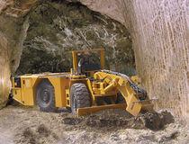 Underground mining motor grader